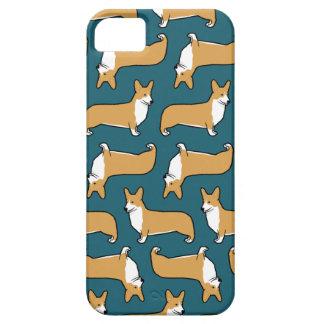 Pembroke Welsh Corgis Pattern iPhone 5 Cases