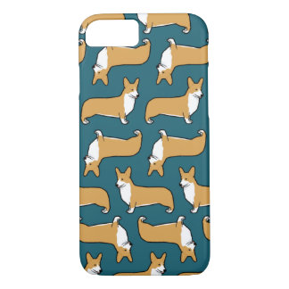 Pembroke Welsh Corgis Pattern iPhone 7 Case
