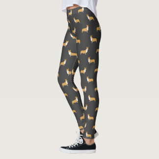 Pembroke Welsh Corgis Pattern Leggings