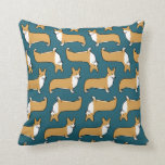 Pembroke Welsh Corgis Pattern Pillows