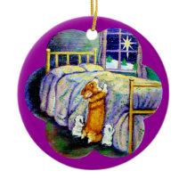 Pembroke Welsh Corgo Round Ornament