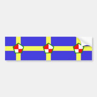 Pembrokeshire, bandera de Reino Unido Etiqueta De Parachoque