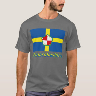 Pembrokeshire Flag with Name T-Shirt