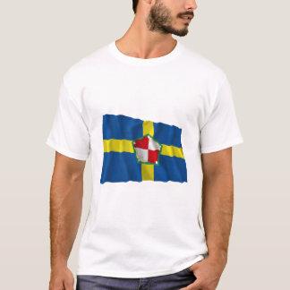 Pembrokeshire Waving Flag T-Shirt