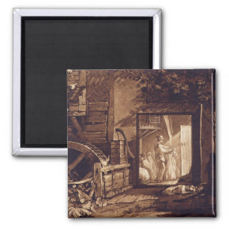 Pembury Mill, Kent, engraved by Charles Turner (17 Magnet