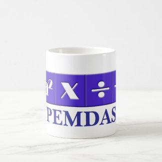 PEMDAS mathematical mug