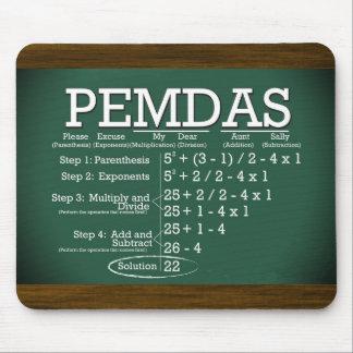 PEMDAS Mousepad Tapete De Raton
