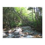 Pemigewasset River Bridge in New Hampshire Canvas Print