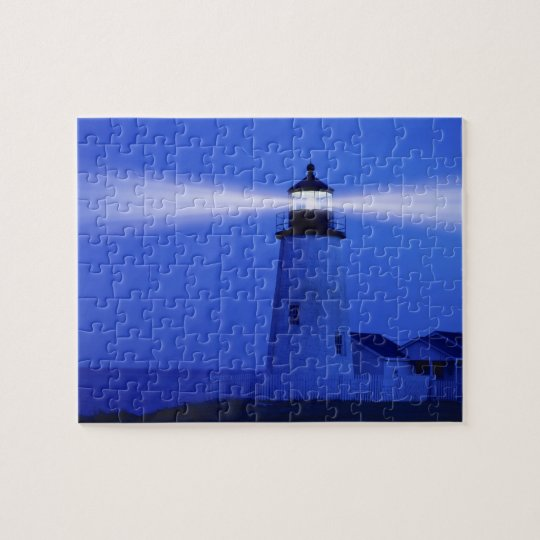 Pemiquid Lighthouse, Maine Jigsaw Puzzle