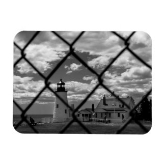 Pemiquid Point Lighthouse Photo Magnet