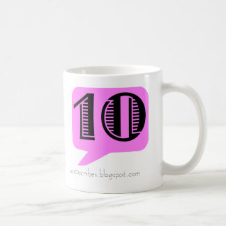 PEN10 CLASSIC WHITE COFFEE MUG