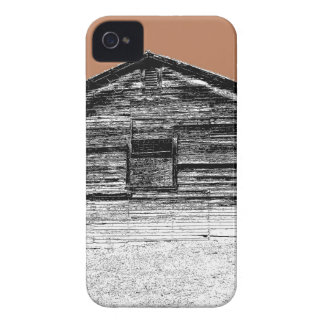 Pen and Ink Abandoned Stable Case-Mate iPhone 4 Case