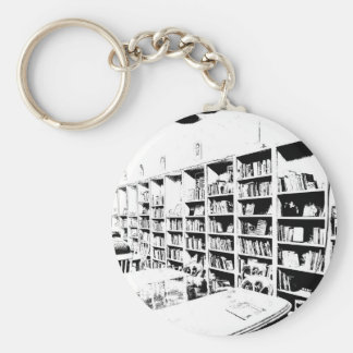 Pen and Ink Book Wall Keychain