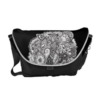 Pen and Ink Drawing Bag