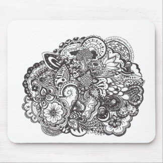 Pen and Ink Drawing Mouse Pad