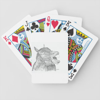 Pen and Ink Horse.png Bicycle Playing Cards