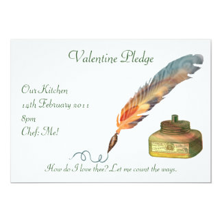 Pen and Ink Love Personalized Announcements