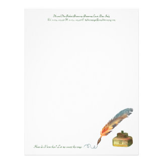 Pen and Ink Love Letterhead