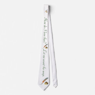 Pen and Ink Love Neck Tie