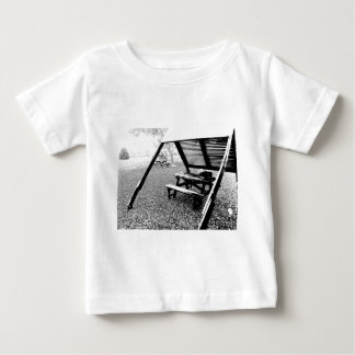 Pen and Ink Picnic Table Baby T-Shirt