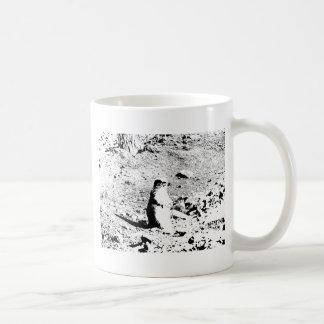 Pen and Ink Prairie Dog Coffee Mug