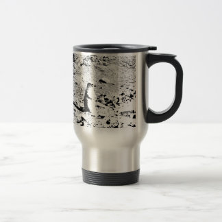 Pen and Ink Prairie Dog Travel Mug