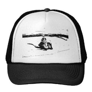 Pen and Ink Spider Monkey Trucker Hat
