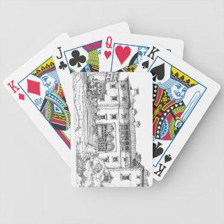 Pen and ink Vizcaya Card Decks