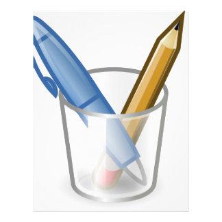 Pen And Pencil Letterhead