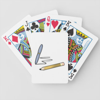 Pen and Pencil Bicycle Card Deck