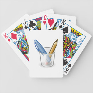 Pen and Pencil Set Playing Cards
