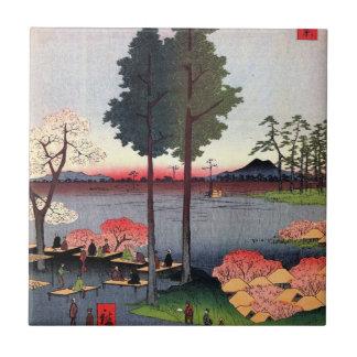 Pen¢asco de Suwa en Nippori (日暮里諏訪の台) Azulejos