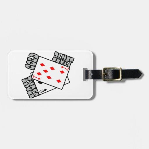 PEN¢ASCO MUY FRÍO - póker/asimiento-em de Tejas Etiqueta Para Maleta