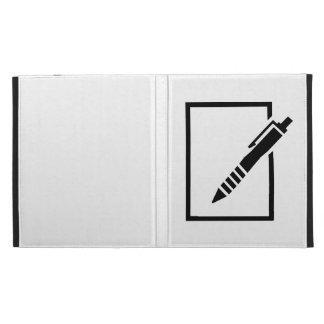 Pen biro memo iPad case