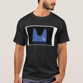 PEN Blue on black T-Shirt