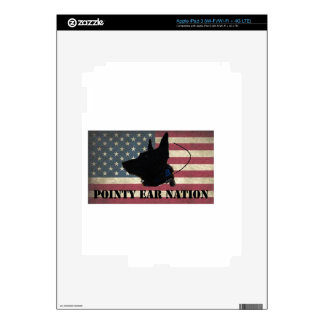 PEN Flag Decals For iPad 3