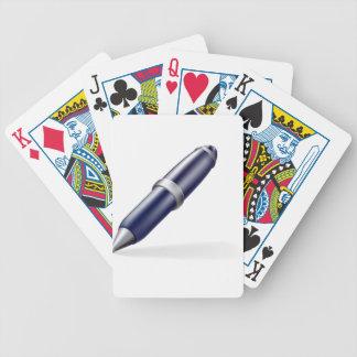 Pen icon card deck