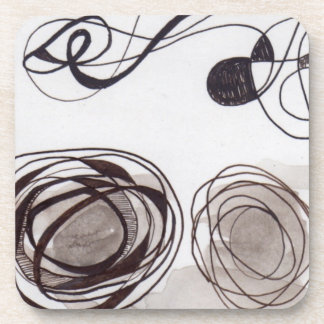 Pen & Ink Art 1 Drink Coaster