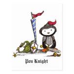 Pen Knight Postcard