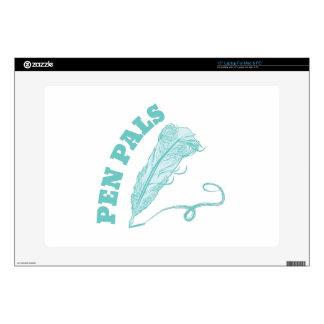 """Pen Pals 15"""" Laptop Decals"""