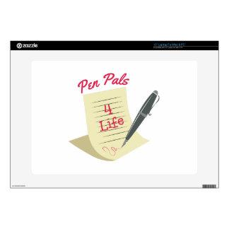 """Pen Pals 15"""" Laptop Skins"""