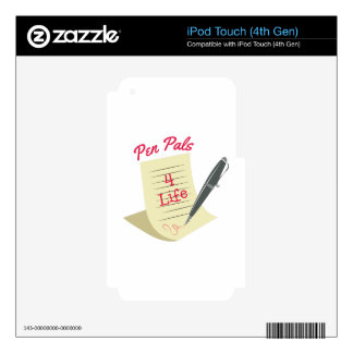 Pen Pals Decals For iPod Touch 4G