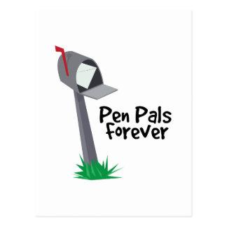 Pen Pals Forever Postcard