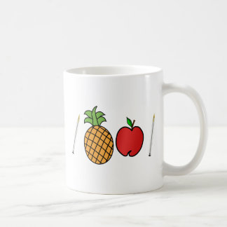 pen pineapple apple pen coffee mug