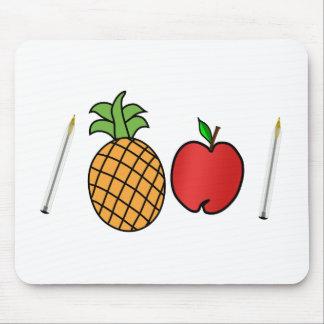 pen pineapple apple pen mouse pad