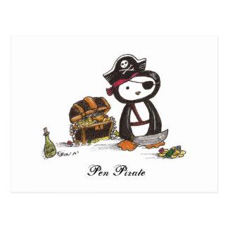 Pen Pirate Postcard