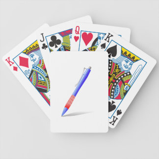 Pen Bicycle Playing Cards