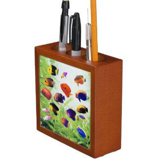 Pen raising and No.02 of Tropical Marine fish Desk Organizer