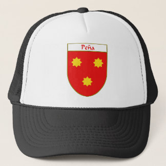 Pena Coat of Arms/Family Crest Trucker Hat