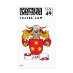 Pena Family Crest Stamp